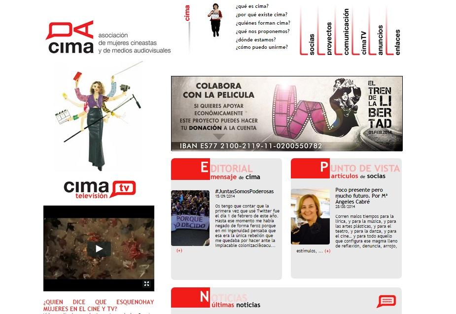 CIMA: Asociación de mujeres cineastas y de medios audiovisuales